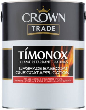 Crown Trade Timonox Intumescent Upgrade Basecoat - 5L