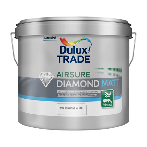 Dulux Trade Airsure Diamond Matt