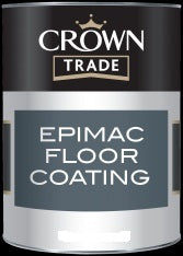 Crown Trade Epimac Floor Paint - 5L