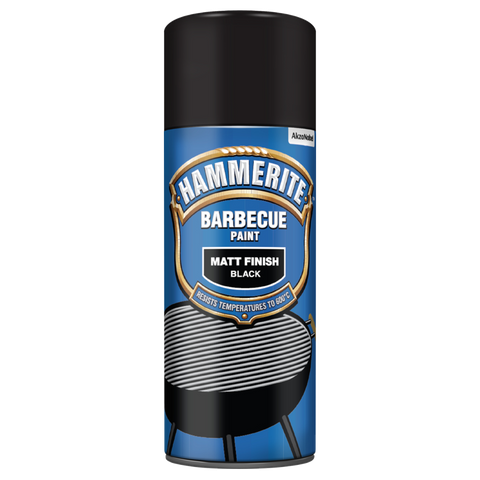 Hammerite Barbecue Paint Matt Black