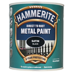 Hammerite Direct to Rust Metal Paint - Satin Finish