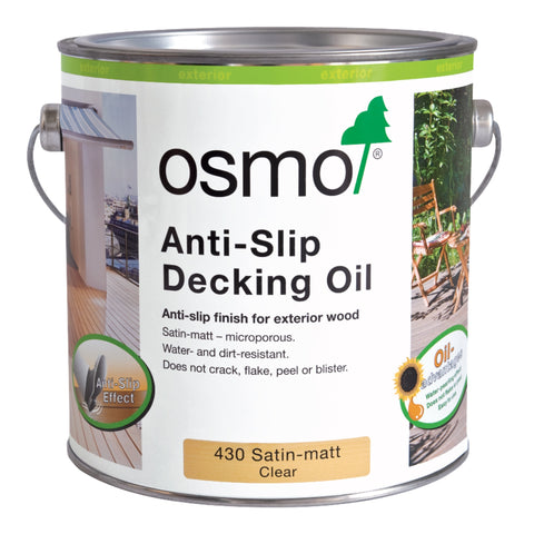 Osmo Antislip Decking Oil 2.5L Clear 430