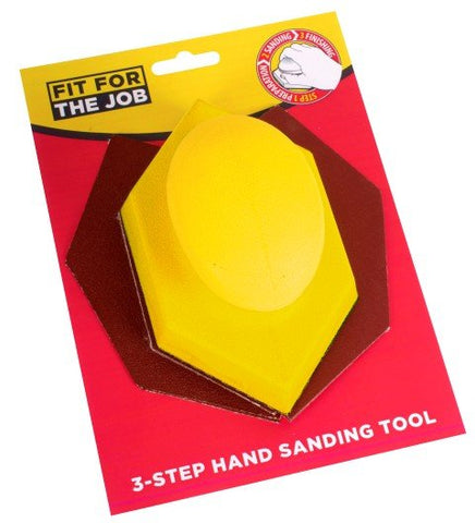 Rodo Fit For Job 3-Step Hand Sanding Tool