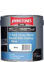 Johnstones Trade 2 Pack Epoxy Water Based Wall Coating
