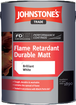 Johnstones Trade Flame Retardant Durable Matt (Acrylic Matt)