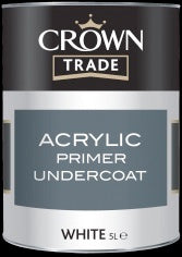 Crown Trade Acrylic Primer Undercoat - White