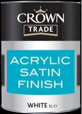 Crown Trade Acrylic Satin