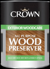 Crown All Purpose Wood Preserver