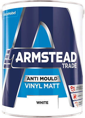 Armstead Trade Anti-Mould Vinyl Matt - 5 Litre