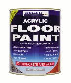 Bedec Acrylic Floor Paint - Waterbased