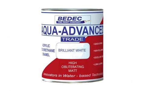 Bedec Aqua Advanced High Obliterating Matt White