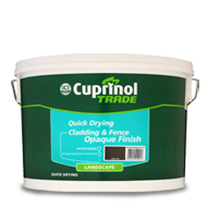Cuprinol Trade Quick Drying Cladding and Fence Opaque Finish