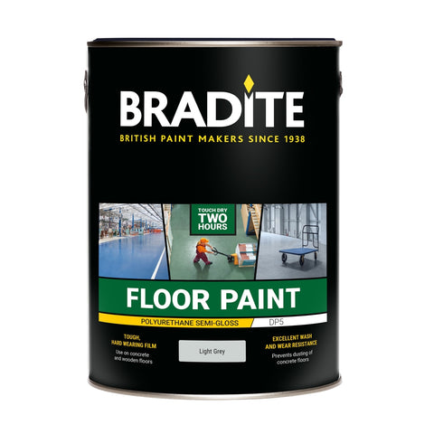Bradite DP5 Polyurethane Floor Paint with Low Slip Additive