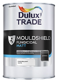 Dulux Trade Mouldshield Fungicidal Matt - 5L