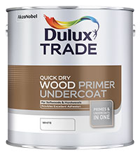 Dulux Trade  Quick Drying Wood Primer Undercoat
