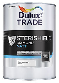Dulux Trade Sterishield Diamond Matt - 5L