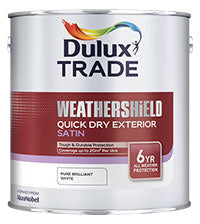 Dulux Trade Weathershield Quick Dry Satin