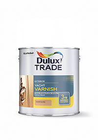 Dulux Trade Weathershield Yacht Varnish