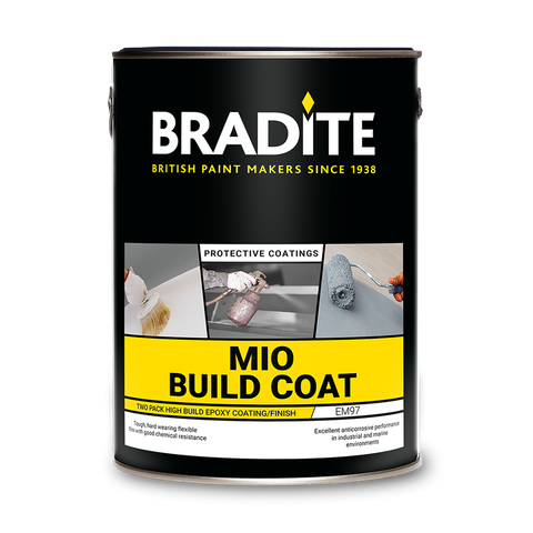Bradite EM97 High Build MIO Build Coat 4.5L