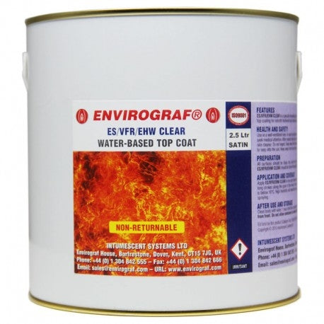 Envirograf WBI - HSP TCW MSG W-B Fire Protect Topcoat for Interior use