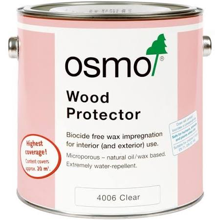 Osmo Wood Protector 2.5L Clear 4006D