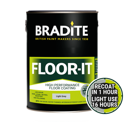 Bradite DP9 Floor-it Stain Resistant Floor Paint