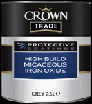 Crown Trade Protective Coatings High Build Micaceous Iron Oxide - 2.5L