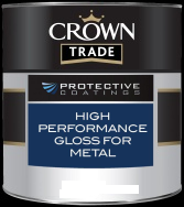 Crown Trade Protective Coatings High Performance Gloss for Metal - 2.5L