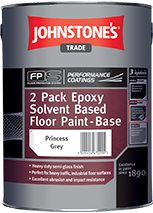 Johnstones Trade 2 Pack Epoxy Solvent Based Floor Paint