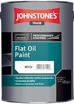Johnstones Trade Flat Oil Paint