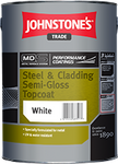 Johnstones Trade Steel & Cladding Semi-Gloss Topcoat