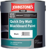 Johnstones Trade Quick Dry Matt Blackboard Paint