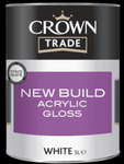 Crown Trade New Build Acrylic Gloss