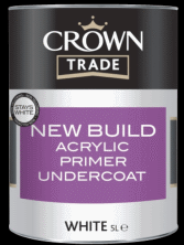 Crown Trade New Build Acrylic Primer Undercoat