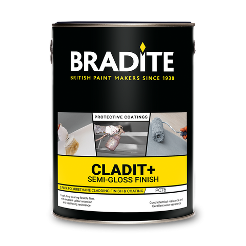 Bradite Cladit+ PC76 2 pack semi gloss finish