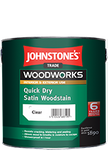 Johnstones Trade Quick Dry Satin Woodstain