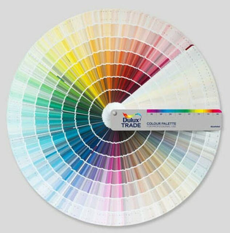 Dulux Trade Colour Pallette Swatch Fan Deck