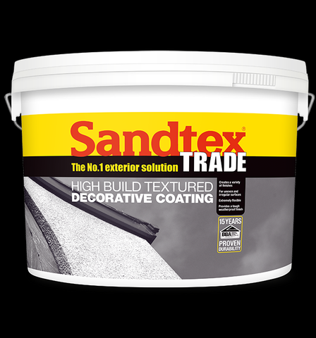 Sandtex Trade High Build Textured Decorative Coating 15kg