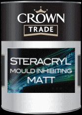 Crown Trade Clean Extreme (Steracryl) Mould Inhibiting Matt