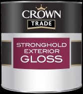 Crown Trade Stronghold Exterior Gloss - 2.5L