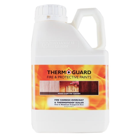 Thermoguard Fire Varnish Overcoat for Timber and Wood - Interior