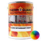Thermoguard Flame Retardant Topcoats for Wood and Steel