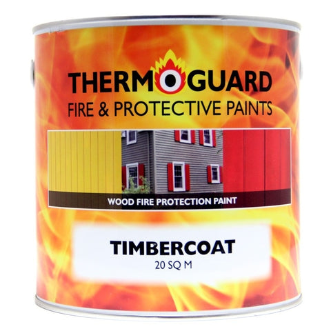 Thermoguard Timbercoat Intumescent paint for timber and wood