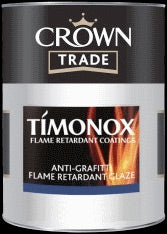 Crown Trade Timonox Anti Graffiti Flame Retardant Clear Glaze