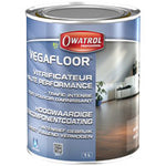 Owatrol Vegafloor Waterborne high performance varnish.