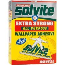 Solvite All Purpose Decorators Wallpaper Adhesive