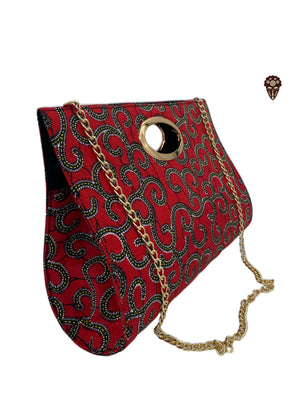 Traditional African Print Handbag