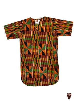Unisex Traditional Kente Dashiki For Kids