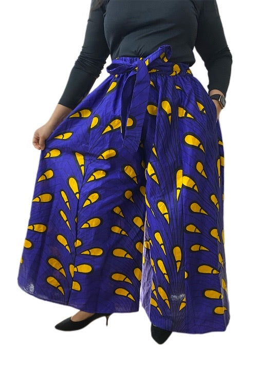 African Palazzo Pants