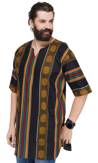 Unisex Kente Dashiki Shirt